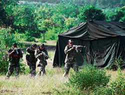 India, Maldives troops train for counter insurgency