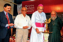 'Rethinking of religion in India is need of hour'
