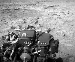 NASA rover tracks big dust storm on Mars