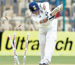 Tendulkar running out of form and time