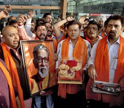 Thackeray's cremation site 'as holy as Ram Mandir'
