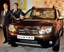 Renault commences first shipment of Duster to UK