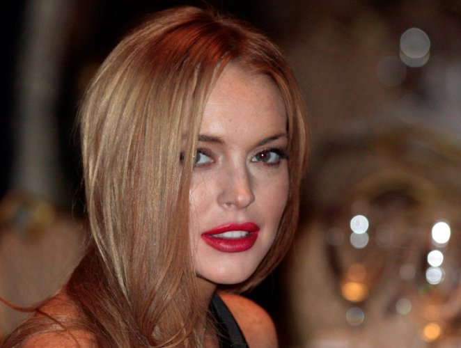 Lohan drinks two litres vodka everyday?