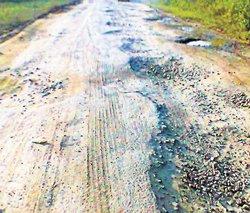 Deadline set for road repair
