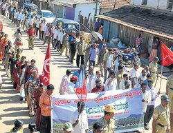 Total bandh observed in Kalasa