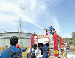 Mock drill tests readiness of authorities