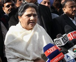 UPA gets BSP support in Rajya Sabha