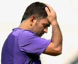 The end of Dhoni's midas touch?