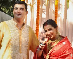 Vidya Balan ties the knot with Siddharth Roy