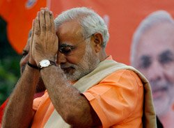 If I have committed any mistake, I apologise: Modi