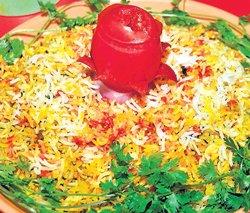 Biryani for the vegetarians