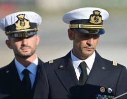 Italian marines back home