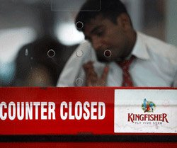Kingfisher Airlines submits revival plan; stock gains