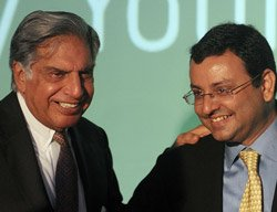 Ratan Tata ends 50-year tenure, Mistry takes over