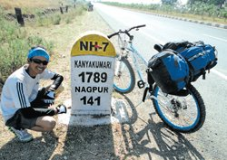 A cycle expedition with a cause
