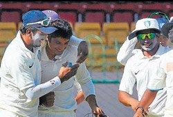 Karnataka make it to Ranji Trophy knockout stage