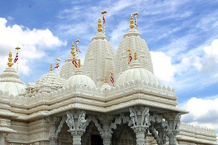 $100 million temple thrown open near Hollywood