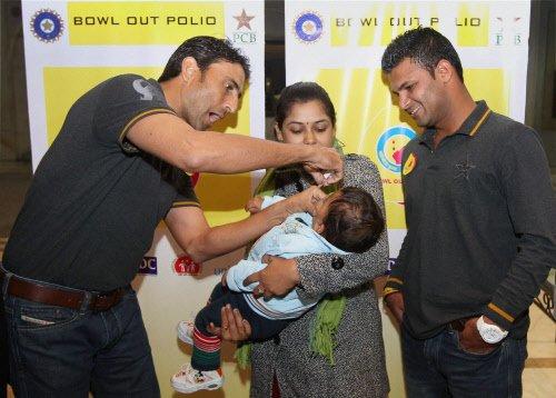 India, Pak teams unite to bowl out polio