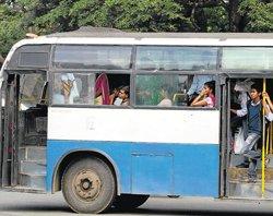 Ensuring safety inside buses