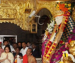 Shirdi  temple has ornaments worth over Rs 50 crores