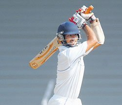 Pujara's double  ton floors Karnataka