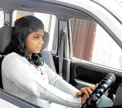 Mind your posture while driving