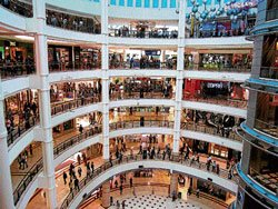 Malls take note of frequent falls