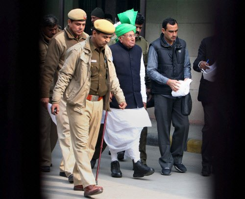 Chautala, son convicted in scam