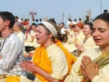 Maha Kumbh attracts large number of foreign Sanyasis