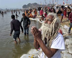 Ganga's pollution forces change in tradition
