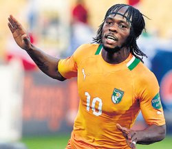 Gervinho powers Ivory Coast