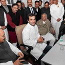 Rahul Gandhi takes charge, promises positive politics