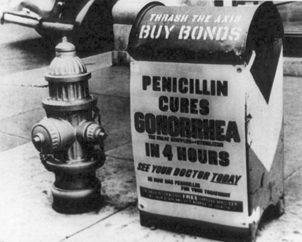 Penicillin, not the pill, launched the sexual revolution