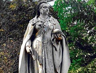 Empress of all she surveys