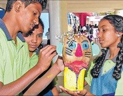 Children 'wake up' to scientific management of solid waste