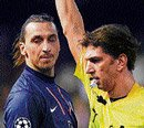 Zlatan didn't deserve to be sent off: coach