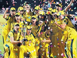 Australia wallop West Indies to emerge champs