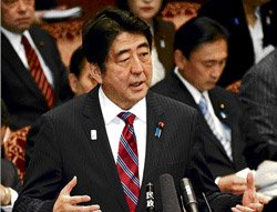 In his second act, Shinzo Abe plays it safe