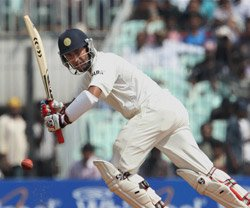 Dhoni's double ton helps  India gain upper hand