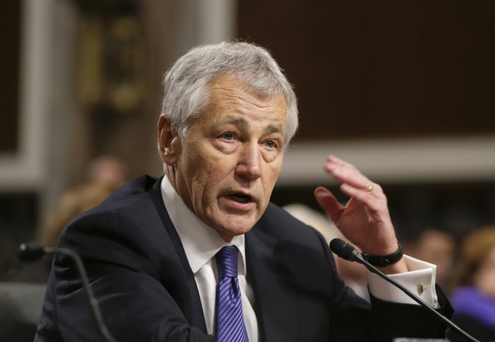 Hagel confirmed as defence secretary; critics play India card