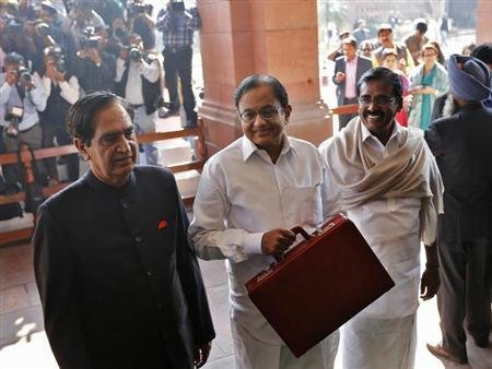 Chidambaram calls for tough choices but lifts spending
