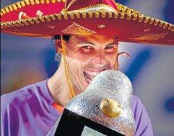 Nadal wins second title on return