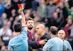 Barcelona fume at Real treatment