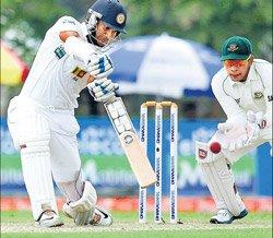 Sanga ton powers Lanka
