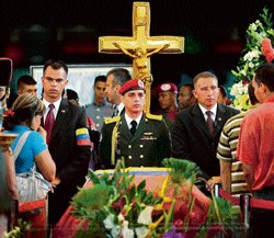 Chavez's body to be embalmed, put on display 'for eternity'