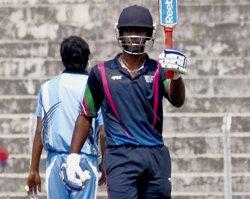 Aparajith hits a ton as South Zone enter Deodhar semis