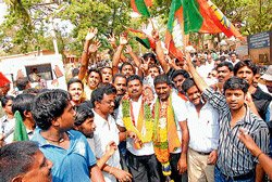 BJP gets majority in CMC, Koppa, Sringeri town panchayats