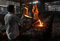 Industrial production inches up by 2.4% in January
