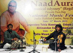 Paying tribute to tabla maestros