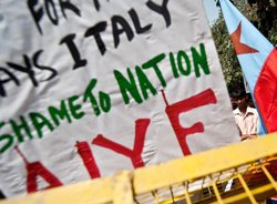 Is Italy taking 'advantage' of India's decency?